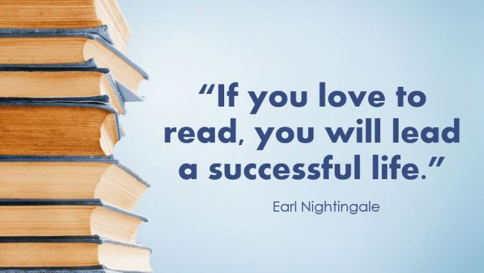 If you love to read