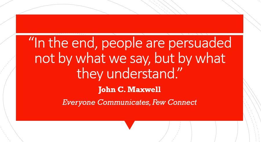 connection John Maxwell