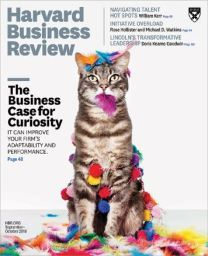 Harvard Business Review Sept cover