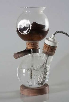 old coffee brewer
