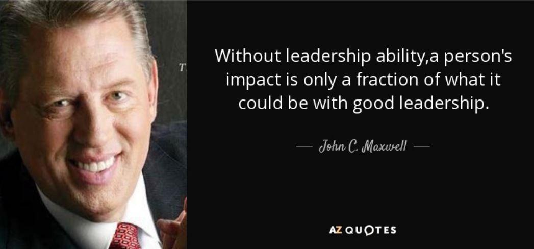 Maxwell on leadership impact
