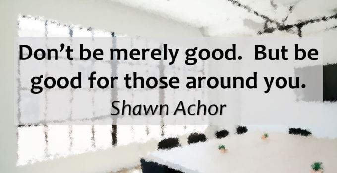 dont be merely good