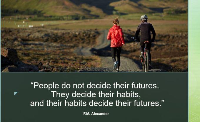 habits decide futures
