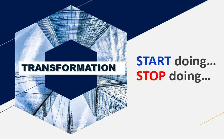 start stop doing